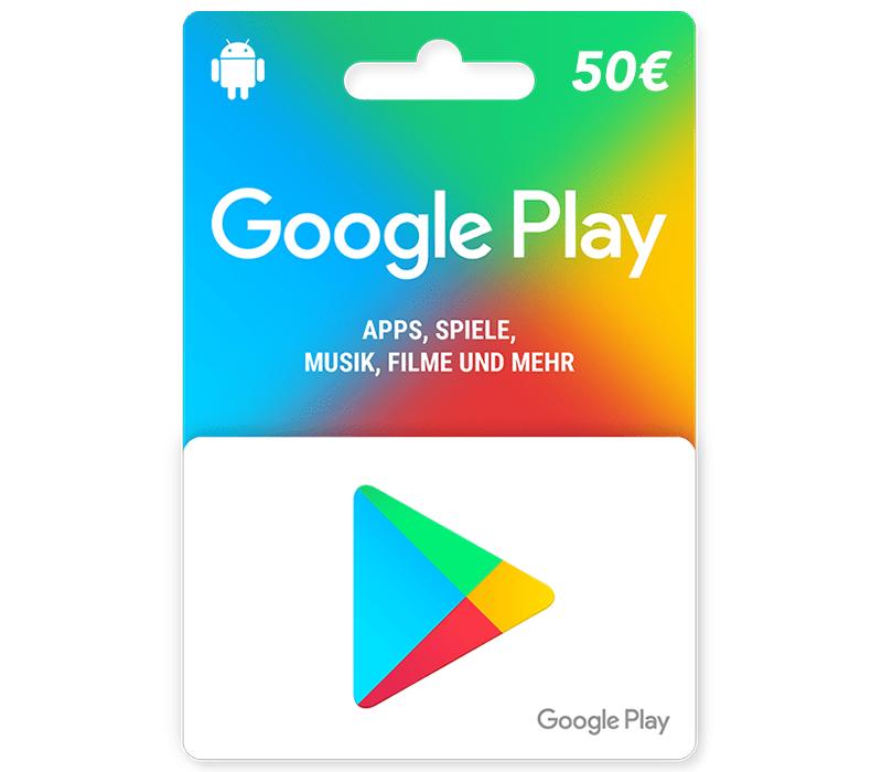 Google Play Gutschein Online