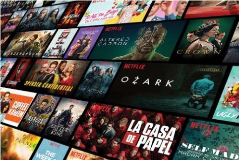 Netflix y su extenso catálogo de películas online