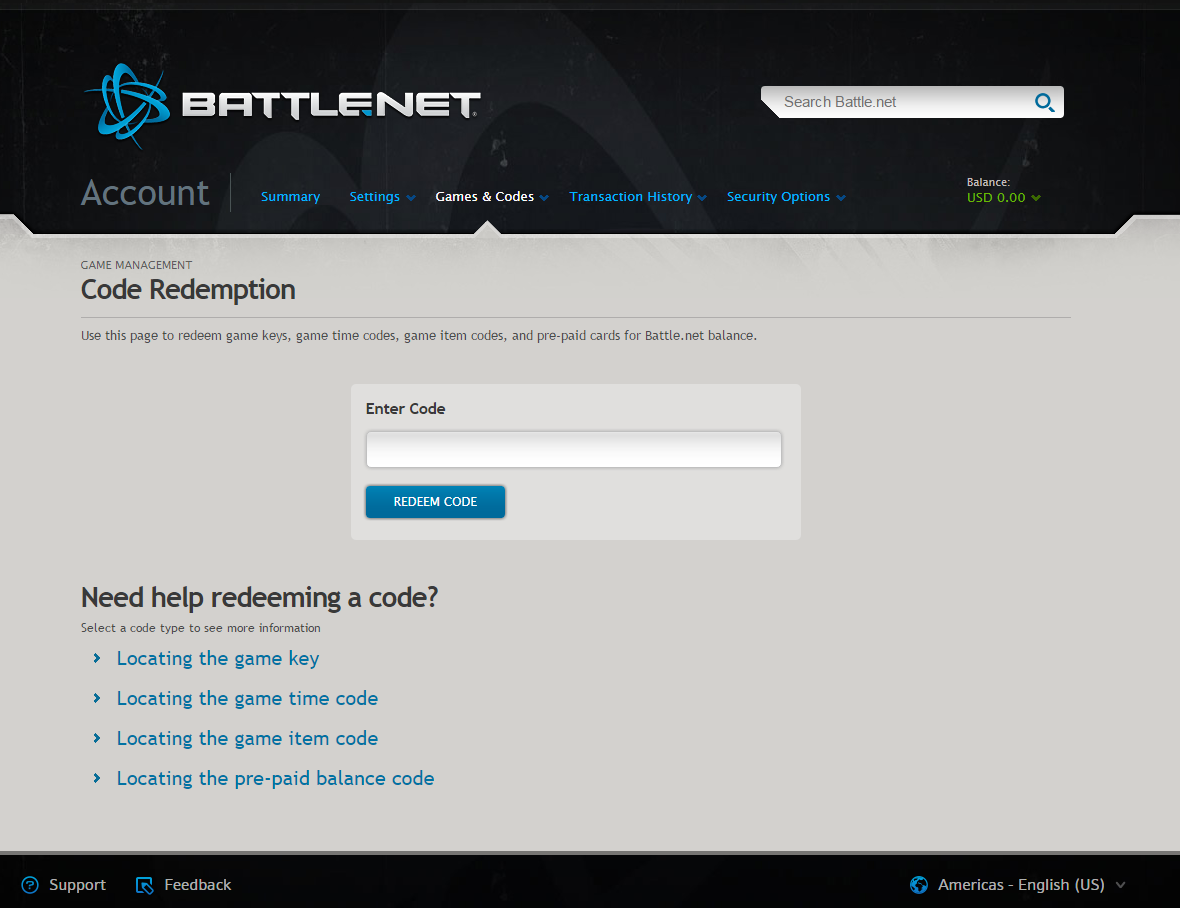 Buy Battle.net gift cards and use them immediately