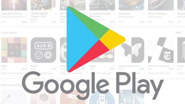 Cartões Google Play - Google Play Store