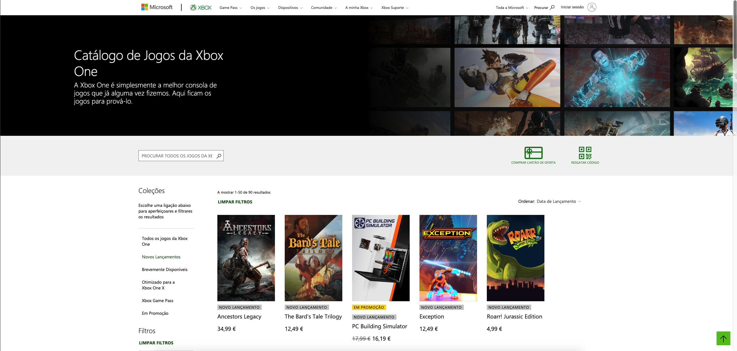 Comprar Xbox Live - Store