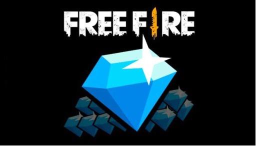 Logotipo de diamantes en Free Fire