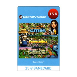 Bigpoint Card 15 Euro