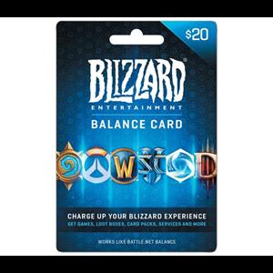 Blizzard 20$ USD