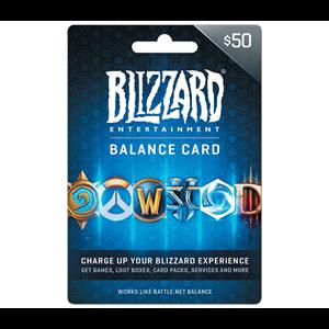 Blizzard 50$ USD