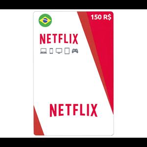 Netflix 150R$ BRL