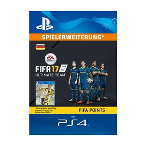 FIFA 17 UT 4600 Points Playstation