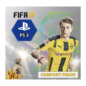 FIFA 17 UT Coins Playstation 3 Comfort Trade