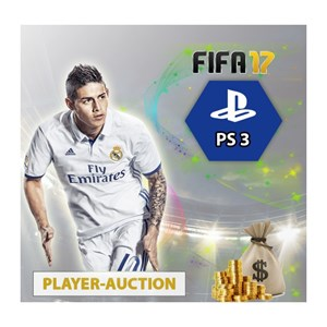 FIFA 17 UT Coins Playstation 3 Player Auction
