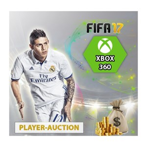 FIFA 17 UT Coins Xbox 360 Player Auction