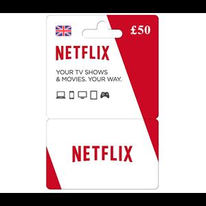 Netflix 50£ GBP