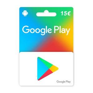 Google Play 15€ Euro