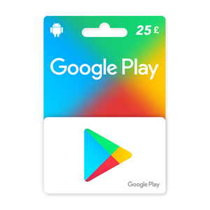 Google Play 25£ GBP