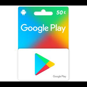 Google Play 50£ GBP