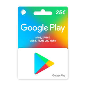Google Play 25€ Euro