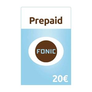 Fonic Prepaid 20€