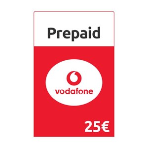 Vodafone CallYa Prepaid 25€