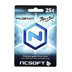 NCsoft NCoin Card Karte 25€ Euro