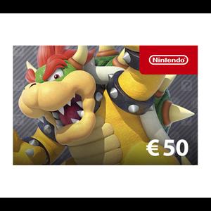 Nintendo eShop 50€