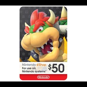 Nintendo eShop 50$
