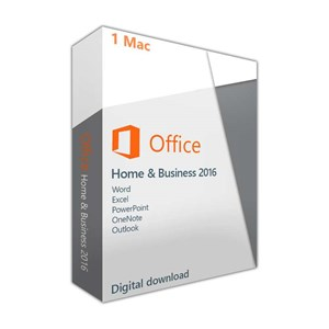 Microsoft Office 2016 Mac Home & Business