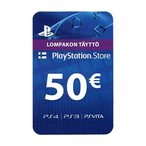 Playstation Network PSN FI 50€