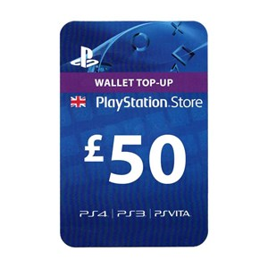 Playstation Network PSN UK 50£