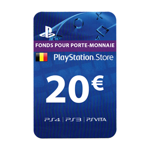 Playstation Network PSN BE 20€