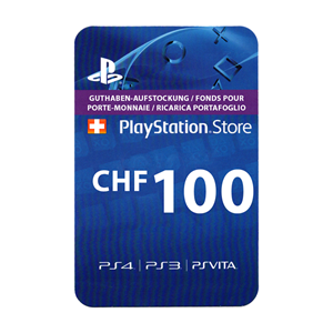 Playstation Network PSN CH 100 CHF