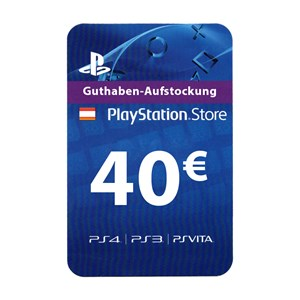 Playstation Network PSN AT 40€