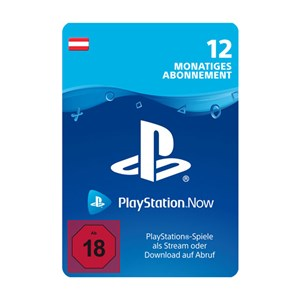 Playstation Now AT 12 Monate