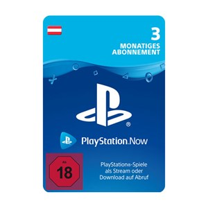 Playstation Now AT 3 Monate