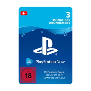 Playstation Now CH 3 Monate