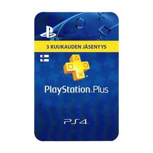 Playstation Plus FI 3 Kuukautta Months