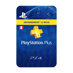 Playstation Plus FR 12 Mois Months