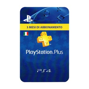Playstation Plus IT 3 Mesi Months