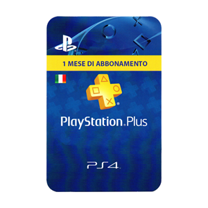 Playstation Plus IT 1 Mese Month