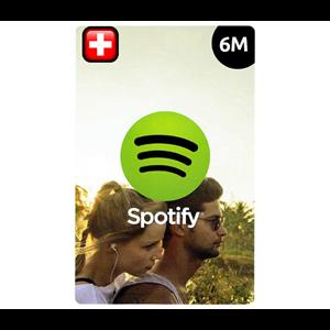 Spotify Premium CH 6 Monate