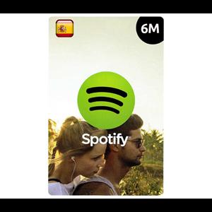 Spotify Premium ES 6 Meses
