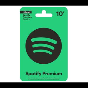 Spotify DE 10€ 1 Monat