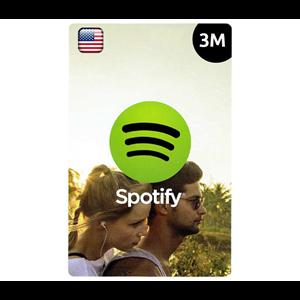 Spotify Premium US 3 Months