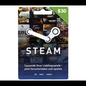 Steam 30$ USD