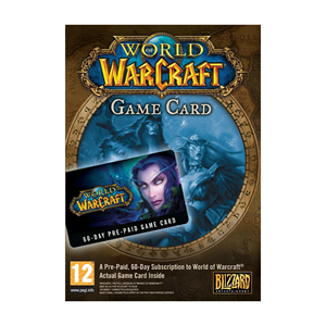 World of Warcraft WoW Gamecard 60 Days US