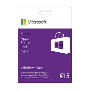 Microsoft Windows Store 15€