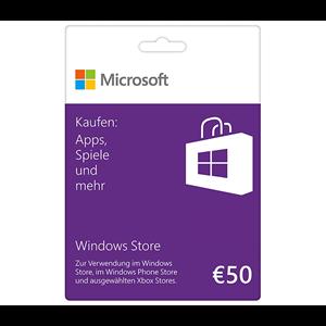 Microsoft Windows Store 50€