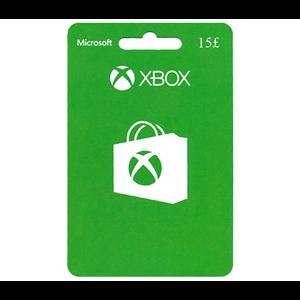 Xbox Live 15£ GBP