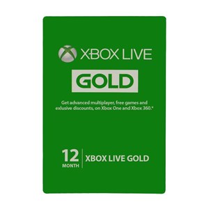Xbox Live Gold Mitgliedschaft Membership 12 Monate Month