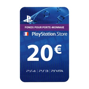 Playstation Network PSN FR 20€