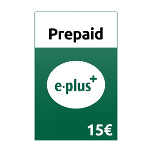 E-Plus Prepaid 15€