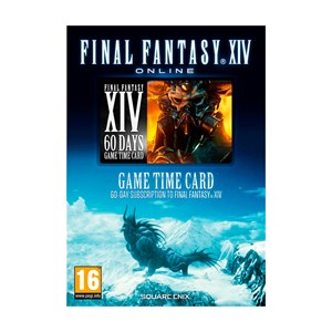 Final Fantasy XIV - A Realm Reborn 60 Days Game Time Card